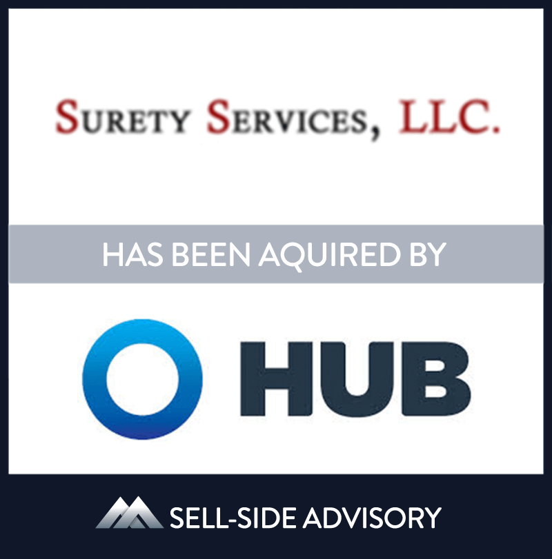 Hub International Limited, a leading global insurance brokerage, through its subsidiary Hub International Mid-Atlantic, Inc. has acquired the assets of Contractor's Services, Inc. (CSI) and Surety Services, LLC (SS), both Maryland based insurance brokerages. CSI and SS are leading providers of surety bond services to contractor's in the Mid-Atlantic region. CSI and SS join several other agencies who were recently acquired by Hub in the region and will report to Norman Breitenbach, President of Hub Mid-Atlantic. MidCap has served as advisor to four of the agencies Hub has acquired in the area.| CSI Bonds, HUB International, 1 Dec 2017, Maryland, Insurance & Financial Services