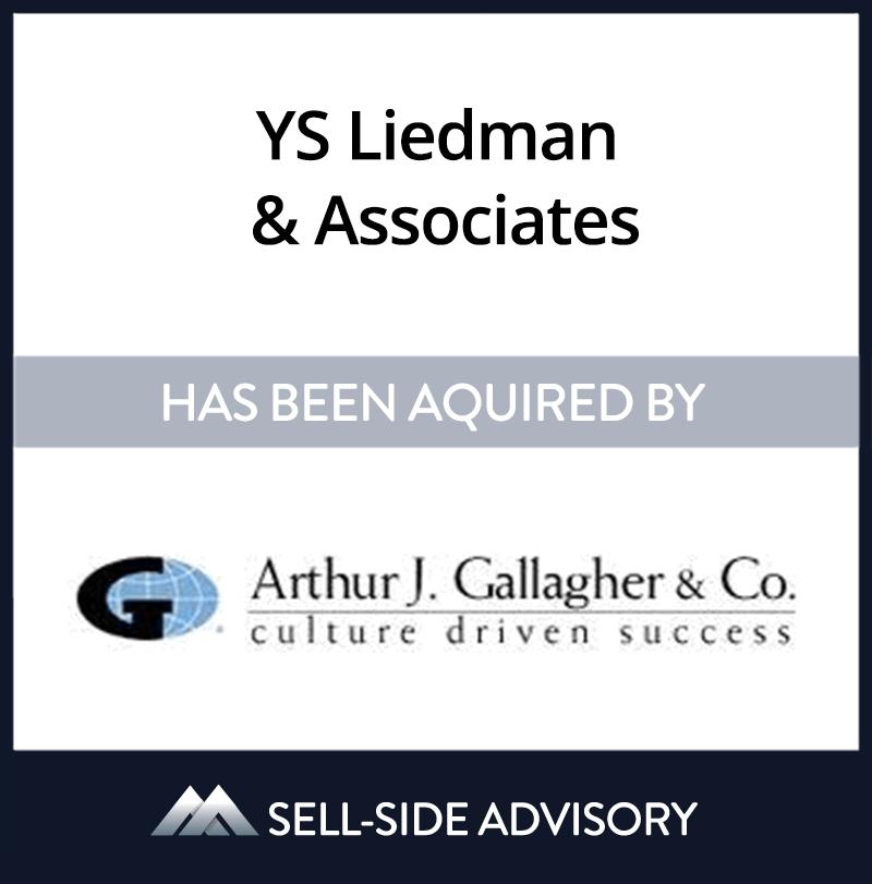 | YS Liedman & Associates, Arthur J. Gallagher & Co., 12 May 2006, Florida, Insurance & Financial Services
