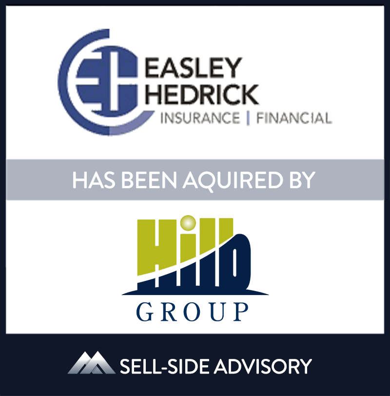 """The Hilb Group (""""Hilb""""), backed by The Carlyle Group, has acquired Mechanicsville, Virginia-based Easley Hedrick Insurance & Financial (""""Easley Hedrick""""). The transaction became effective July 1, 2021. Easley Hedrick is a multi-line insurance agency, providing a broad range of offerings for its clients. Agency Principals Suter Easley and Brandon Hedrick, and their team of insurance professionals, will be joining Hilb Group's Mid-Atlantic regional operations. 