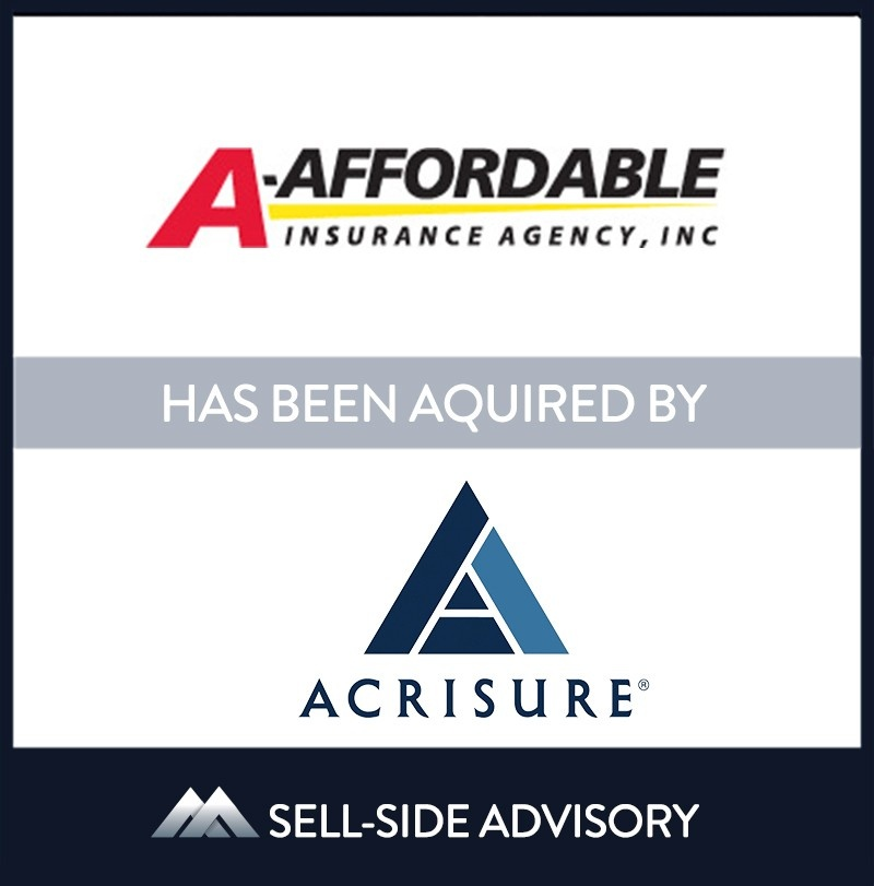 | A-Affordable Insurance Agency, Acrisure, 1 Sep 2021, Massachusetts, Insurance & Financial Services