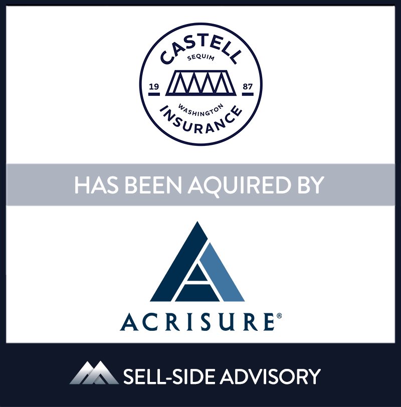 Acrisure, LLC (Acrisure)  has acquired Sequim, Washington-based Castell Insurance, Inc. (Castell). The transaction became effective November 1, 2020. Castell is a multi-line insurance agency providing both Medicare and property & casualty insurance to clients in northwest Washington. Castell was founded over fifteen years ago by Phil Castell who has managed and grown the agency since its inception. Over the past decade Phil's son, James, has joined him in leading the agency and building out their P&C capabilities. Post-transaction James will lead the agency and build toward future growth. | Castell Insurance Inc., Acrisure LLC, 01 Nov 2020, Washington, Insurance & Financial Services