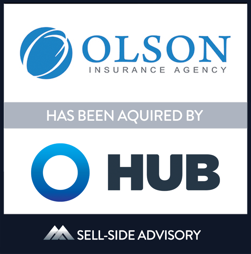 Hub International Mid-Atlantic (Hub) has acquired Springfield, Virginia-based Olson Insurance Agency, and affiliated Your Insurance Brokerage. (together, Olson). The transaction became effective on November 1, 2020. Olson is a property and casualty insurance agency providing personal and commercial lines insurance to clients in the Metro D.C area and throughout the state of Virginia. Olson was previously part of Nationwide Mutual Insurance Company's exclusive distribution model and recently transitioned to an independent model under the leadership of Max Olson. Max is the 14th member of his family to work with Nationwide, and he will continue to lead operations post-closing. Max has successfully transitioned several other Nationwide agencies and plans to continue to lead these efforts in partnership with Hub. The first follows the acquisition, Insure All LLC (Insure All), which was closed simultaneously with Olson. MidCap provided guidance to both Olson and Insure All. | Olson Insurance Agency LLC & Your Insurance Brokerage LLC, Hub International Ltd., 01 Nov 2020, Virginia, Insurance & Financial Services