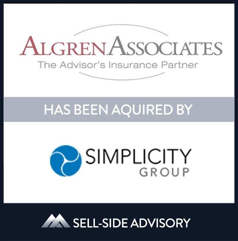 Simplicity Group acquired New Jersey-based Algren Associates Inc. The transaction became effective October 1, 2021. Established in 1960 and purchased by Doug Mishkin in 2006, Algren provides the insurance community with creative solutions focused on complex life insurance coverage. Algren looks forward to continued growth and excellence with its new partner, Simplicity. Doug Mishkin will continue to lead the business   Algren Associates Inc, Simplicity Group Holdings, 1 Oct 2021, Red Bank - New Jersey, Insurance & Financial Services