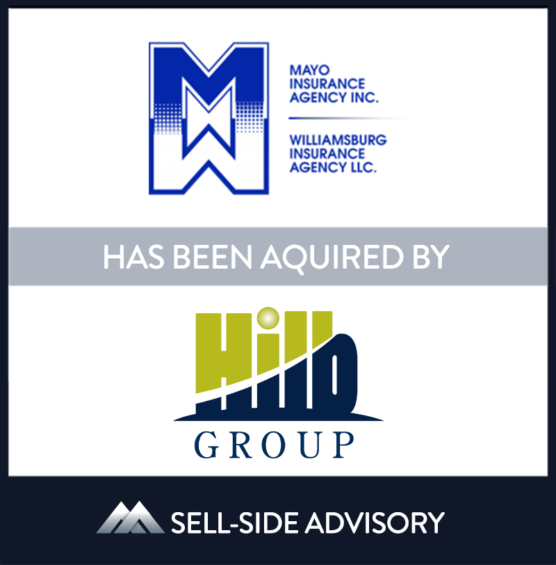 """The Hilb Group (""""Hilb""""), backed by The Carlyle Group, has acquired Virginia Beach, Virginia-based Mayo Insurance (""""Mayo"""") and Williamsburg Insurance Agency, LLC ("""