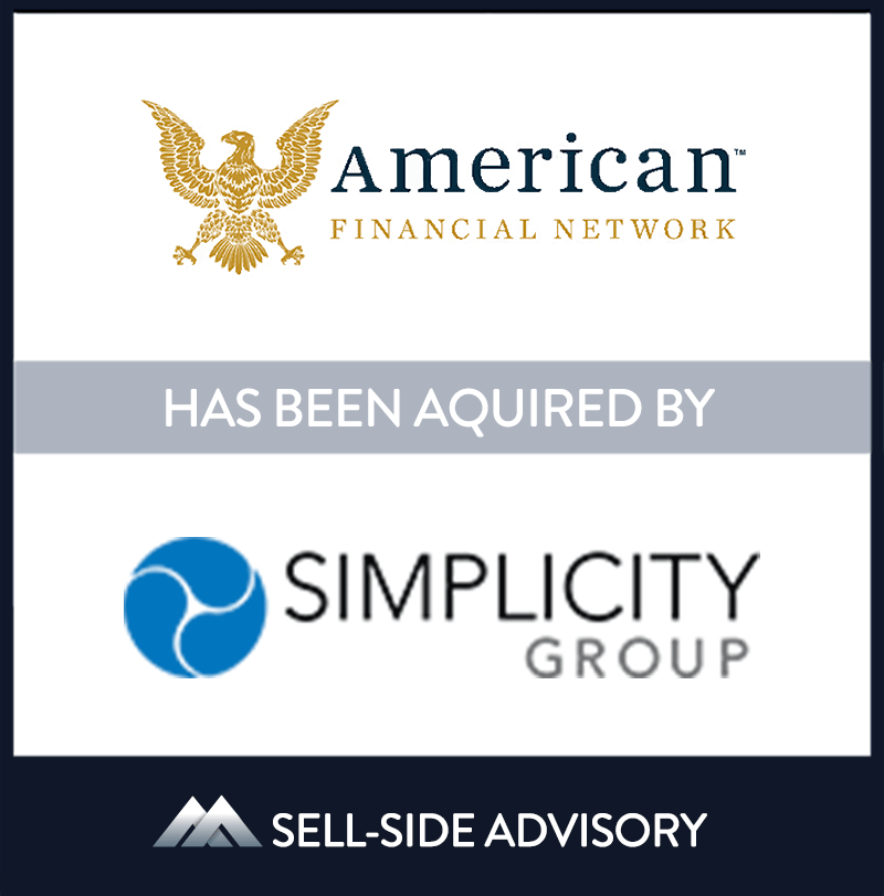 Simplicity Group acquired New Jersey-based American Financial Network, LLC (AFN). The transaction became effective April 6, 2021. Established in 2001, AFN provides the insurance community with unique distribution solutions focused on annuities and life insurance coverage. AFN looks forward to continued growth and excellence with their new partner Simplicity. AFN's founder Gregory E. Nemec and his son, Gregory A. Nemec will continue to lead the business. | American Financial Network LLC., Simplicity Group Holdings, 06 Apr 2021, Parsippany - New Jersey, Insurance & Financial Services