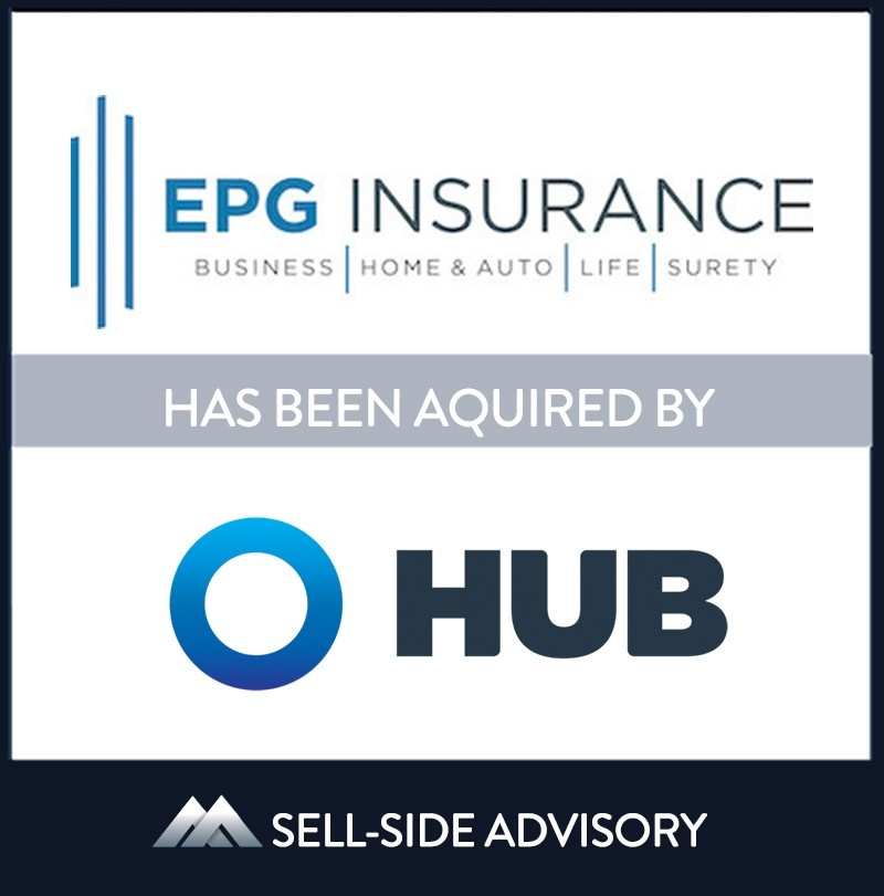 Hub International, backed by Hellman & Friedman, acquired Scottsdale Arizona-based EPG Insurance, LLC. The transaction became effective October 1, 2021. Established in 2016 through the merger of Eaton & Associates and Provident Group, EPG is a multi-line property & casualty insurance brokerage firm with a focus in commercial markets. EPG looks forward to continued growth and excellence with its new partner, Hub International. EPG's principal owners, Tim Schmidt, Jeff Schmidt, and Greg Budiac, will continue to lead the business leveraging the resources of the expanding Southwest Region of Hub.   EPG Insurance LLC, HUB International, 1 Oct 2021, Scottsdale - Arizona, Insurance & Financial Services