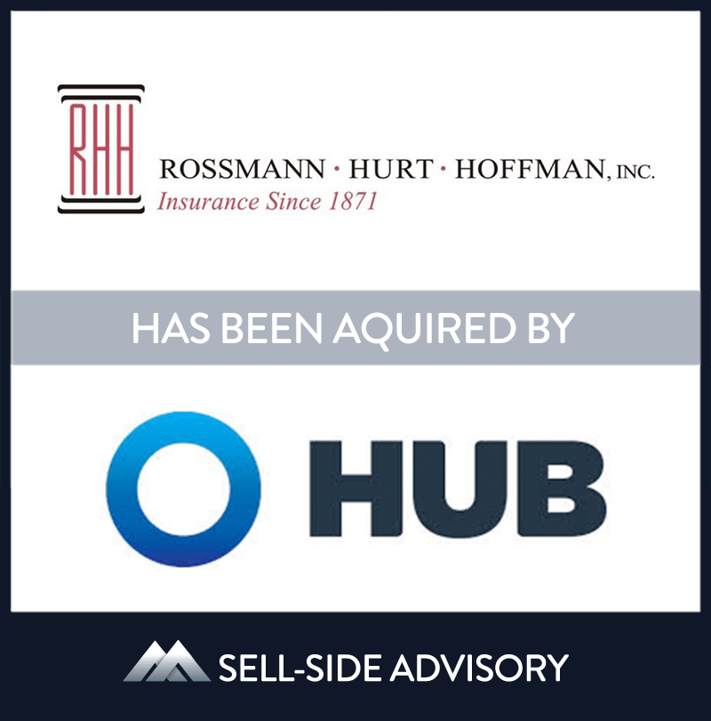Hub International Limited, a leading global insurance brokerage, through its subsidiary Hub International Northeast Limited has acquired the stock of Rossmann-Hurt-Hoffman, Inc. (RHH), a Maryland based insurance brokerage. RHH is a leading provider of Professional Liability insurance in the Mid-Atlantic region and is a full service broker offering both P&C and Employee Benefits expertise to its clients. RHH will become the Mid-Atlantic platform for Hub and expects to complete additional acqusitions in the near term. MidCap served as advisor to RHH. | Rossmann-Hurt-Hoffman Inc., HUB International, 1 May 2017, Maryland, Insurance & Financial Services