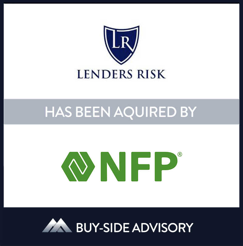 | Lenders Risk Services/Solutions, NFP, Nov 2018, Towson - Maryland, Insurance & Financial Services
