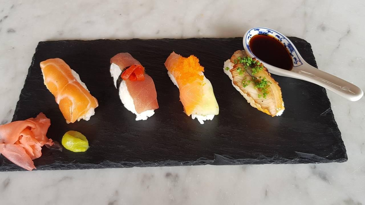 Maki Sushi Ingredients