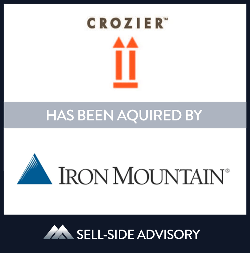 Iron Mountain, Inc. the storage and information company, acquired Crozier Fine Arts (CFA), a storage, logistics, and transportation firm for high value paintings, photographs, and other types of art belonging to individual collectors, galleries and art museums. CFA is a leader in art storage and an industry advocate for worldwide standards. MidCap served as advisor to CFA. | Crozier Fine Arts, Iron Mountain, 2 Dec 2015, New York, Manufacturing & Business Services
