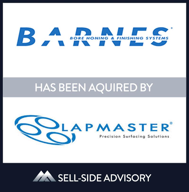 | Barnes Bore Honing & Finishing, Lapmaster, 1 Jul 2006, Illinois, Manufacturing & Business Services