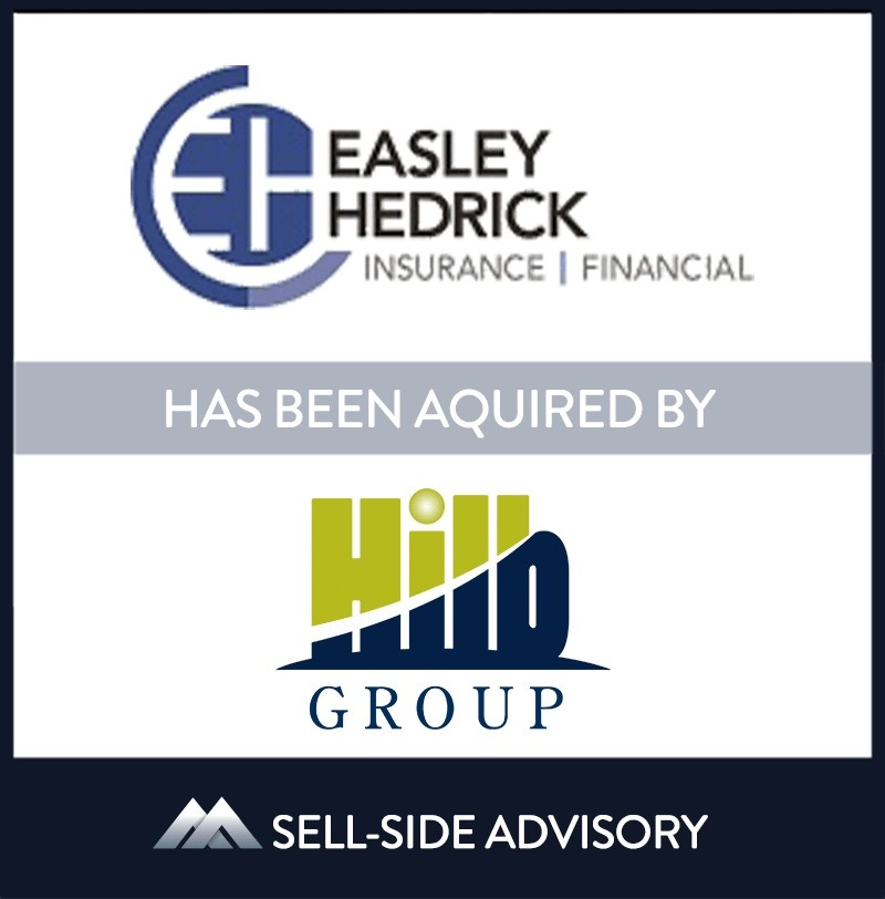 """The Hilb Group (""""Hilb""""), backed by The Carlyle Group, has acquired Mechanicsville, Virginia-based Easley Hedrick Insurance & Financial (""""Easley Hedrick""""). The transaction became effective July 1, 2021. Easley Hedrick is a multi-line insurance agency, providing a broad range of offerings for its clients. Agency Principals Suter Easley and Brandon Hedrick, and their team of insurance professionals, will be joining Hilb Group's Mid-Atlantic regional operations.   Easley Hedrick Insurance & Financial, The Hilb Group, 01 Jul 2021, Virginia, Insurance & Financial Services"""