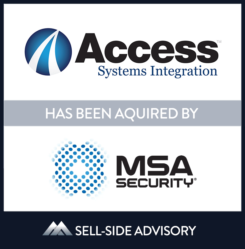 Michael Stapleton Associates, a national perimeter security company, acquired Access Systems Integration (ASI), the New York region's leading electronic security integrator. ASI provides integrated intrusion detection, IP-based digital video recording, visitor management, and access control systems for clients throughout the tri-state area. MidCap served as advisor to ASI. | Access Systems Integration LLC, MSA Security, 11 Nov 2008, New Jersey, Manufacturing & Business Services