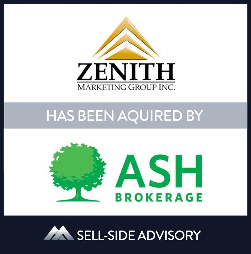 | Zenith Marketing Group, Ash Brokerage, 30 Mar 2018, New Jersey, Insurance & Financial Services