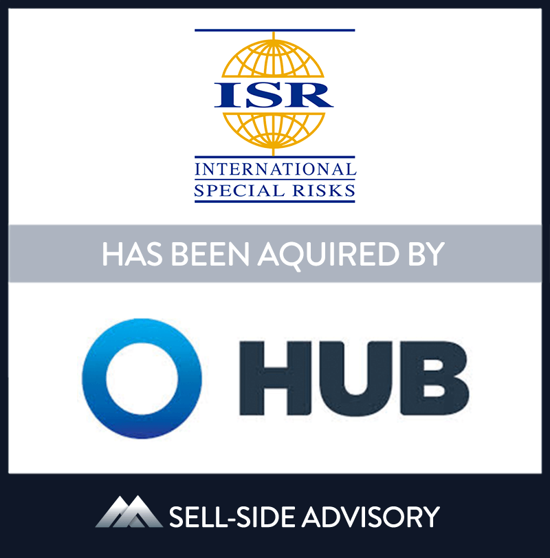 Hub International Limited, a leading global insurance brokerage,  through its subsidiary Hub International New England acquired the majority assets of International Special Risks, Inc. (ISR), a Massachusetts & Virginia based brokerage. ISR is the largest marine insurance intermediary on the East Coast and has been serving agents across the country for more than 25 years. MidCap served as advisor to ISR. Subsequently, MidCap advised on the sale of the remaining assets of ISR, namely, Lucantha Marine Insurance. | International Special Risks, Hub International, 26 Nov 2013, Massachusetts, Insurance & Financial Services