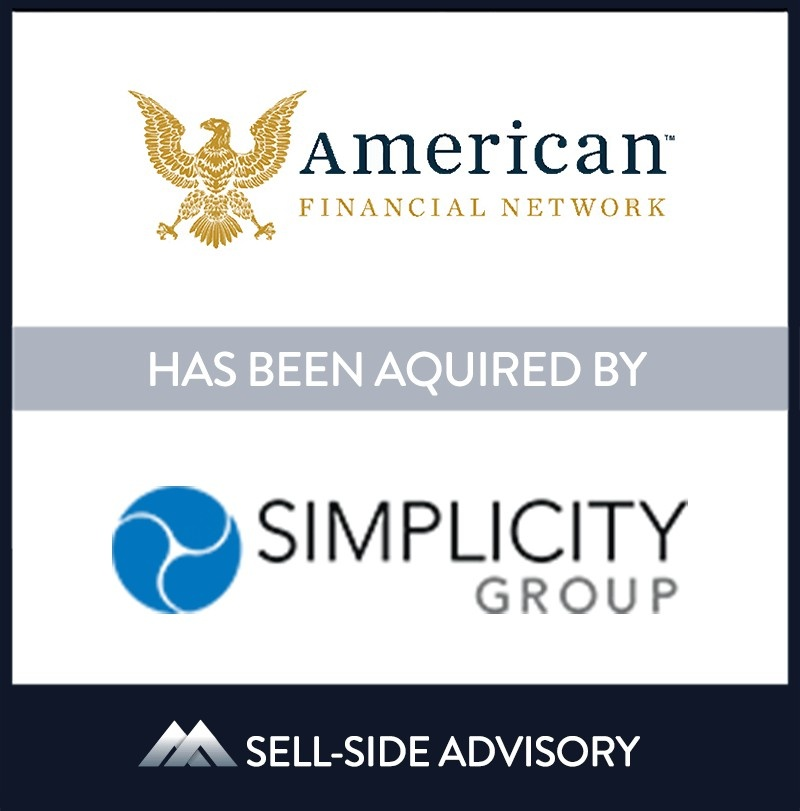 Simplicity Group acquired New Jersey-based American Financial Network, LLC (AFN). The transaction became effective April 6, 2021. Established in 2001, AFN provides the insurance community with unique distribution solutions focused on annuities and life insurance coverage. AFN looks forward to continued growth and excellence with their new partner Simplicity. AFN's founder Gregory E. Nemec and his son, Gregory A. Nemec will continue to lead the business.   American Financial Network LLC., Simplicity Group Holdings, 06 Apr 2021, Parsippany - New Jersey, Insurance & Financial Services