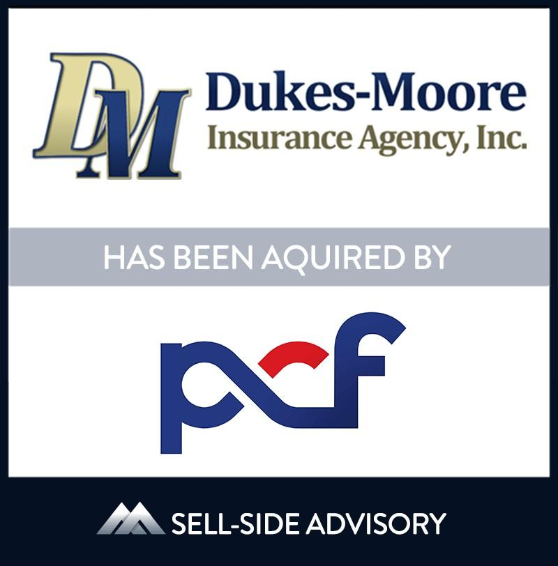Peter C. Foy & Associates Insurance Services (PCF) has acquired Chestertown, Maryland-based Dukes-Moore Insurance Agency, Inc. (Dukes-Moore). The transaction became effective October 9, 2020. Dukes-Moore is a multi-line insurance agency providing personal and commercial lines insurance as well as group benefits to clients throughout the state of Maryland. Dukes-Moore has been a leading provider of insurance services to Marylanders since 1931, and has successfully grown under the stewardship of Michael and Wendy Moore since 1998. The Moores will continue to run and operate the business post-transaction. | Dukes-Moore Insurance Agency Inc., PCF Insurance Services , 09 Oct 2020, Maryland, Insurance & Financial Services