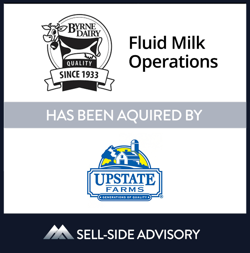 | Byrne Dairy Fluid Milk Operations, Upstate Niagra Cooperative Inc., 25 Nov 2019, New York, Manufacturing & Business Services