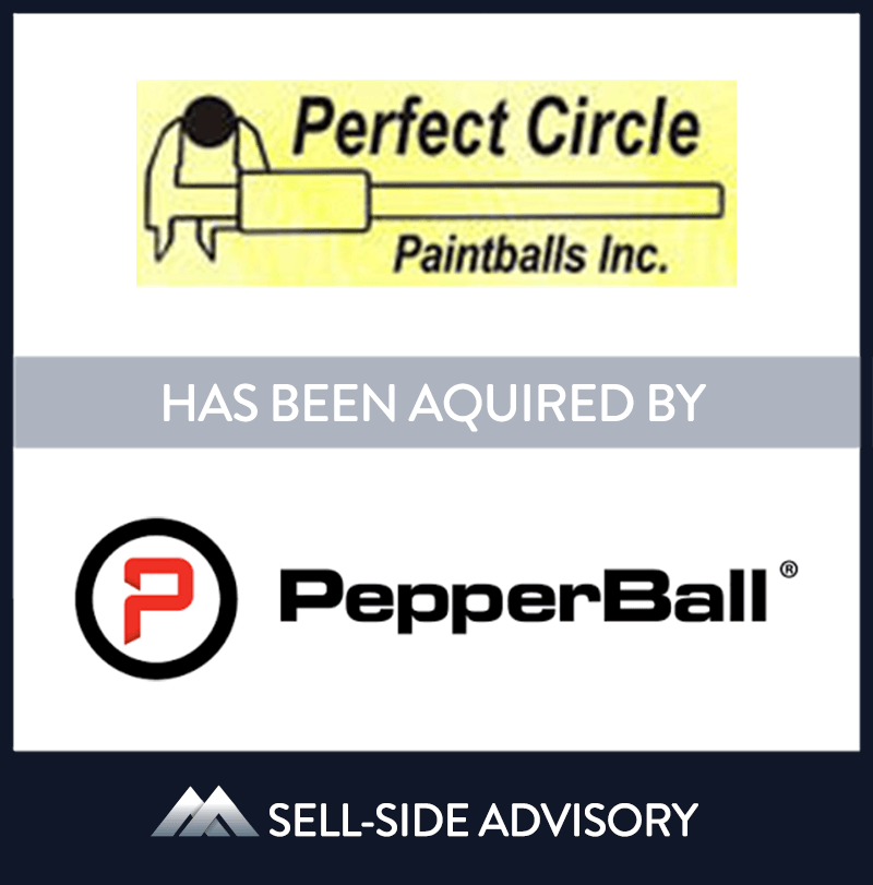 | Perfect Circle Paintballs, Pepperball Technologies, 1 Jan 2000, Illinois,	Manufacturing & Business Services