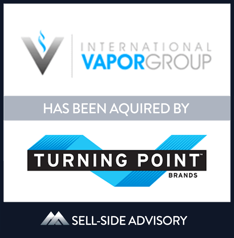 | International Vapor Group, Turning Point Brands, 6 Nov 2018, Florida, Manufacturing & Business Services