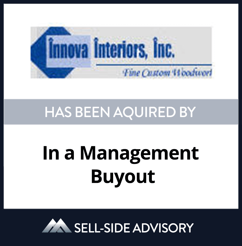 | Innova Interiors, Management Buyout, 15 Sep 2005, New York, Manufacturing & Business Services