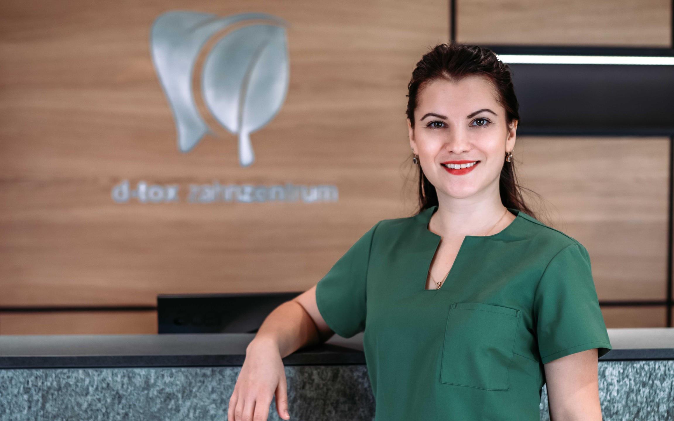 Julija Henke - Zahnmedizinische Fachangestellte im D-tox Zahnzentrum für Biologische Zahnmedizin