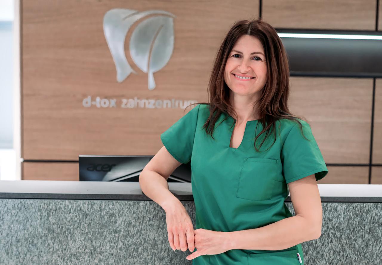 Annabell Torlo - Zahnmedizinische Prophylaxeassistentin im D-tox Zahnzentrum für Biologische Zahnmedizin