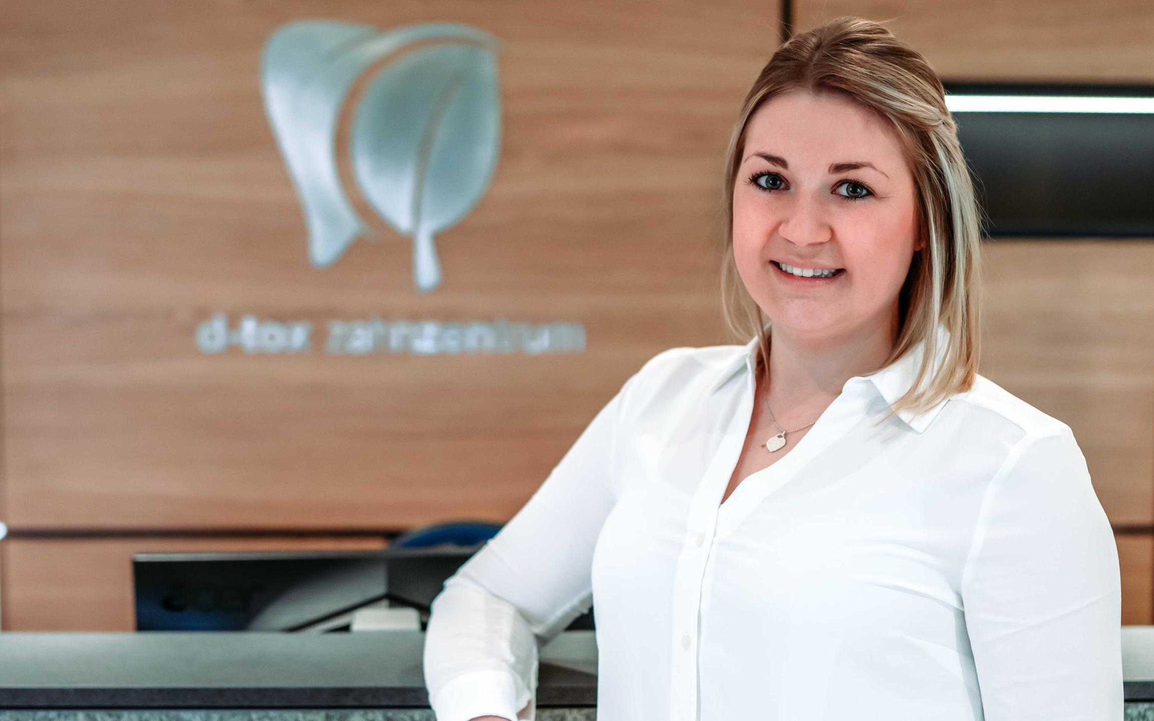 Verena Noder - Zahnmedizinische Verwaltungsassistentin im D-tox Zahnzentrum für Biologische Zahnmedizin