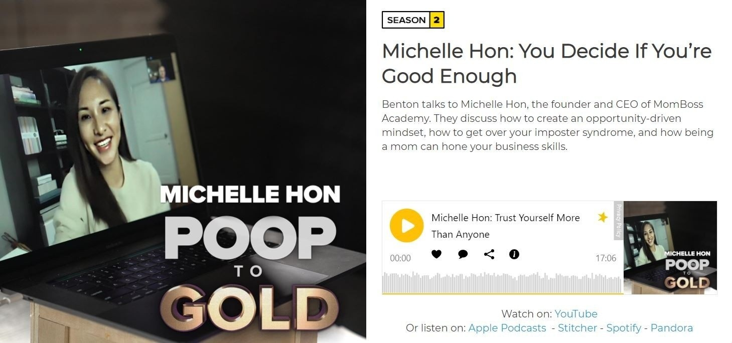 You Can Do It With Michelle Hon – The Tao Of Self Confidence