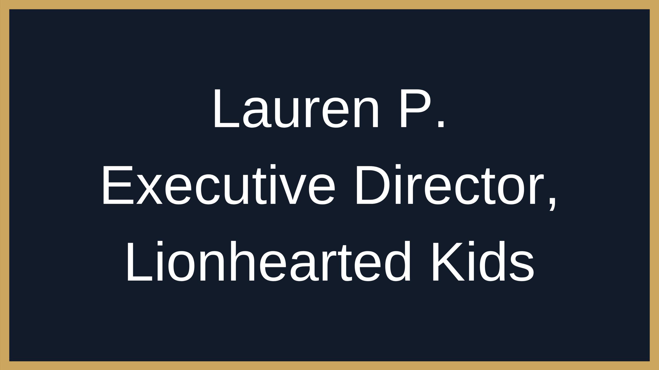 Lisa Dion Success Story