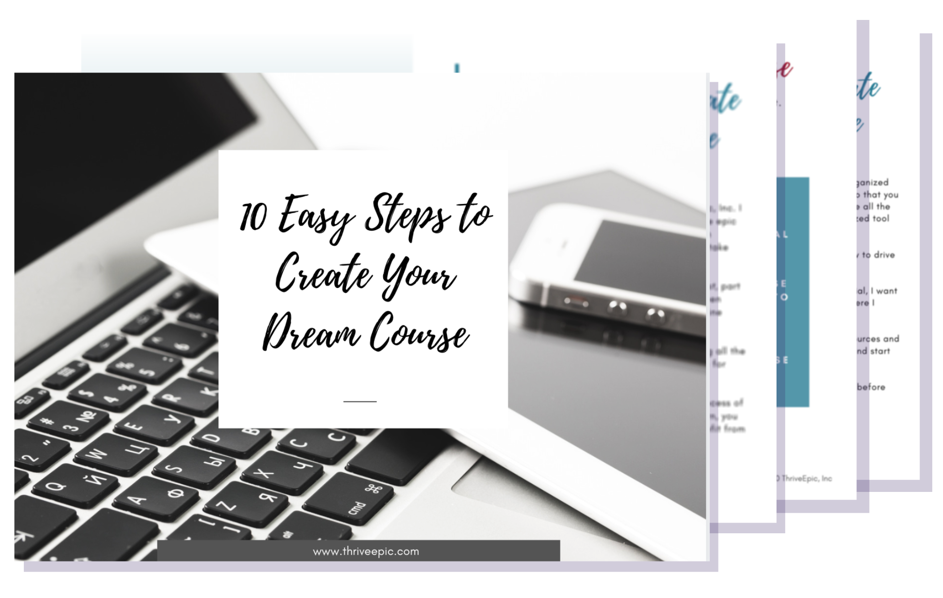 10 easy steps to create your dream online course