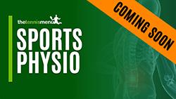 Sports Physio - The Tennis Menu