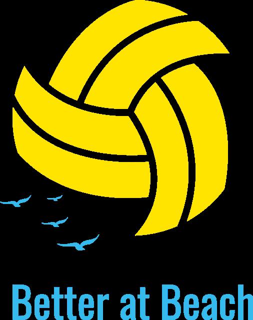 Better at Beach Volleyball logo