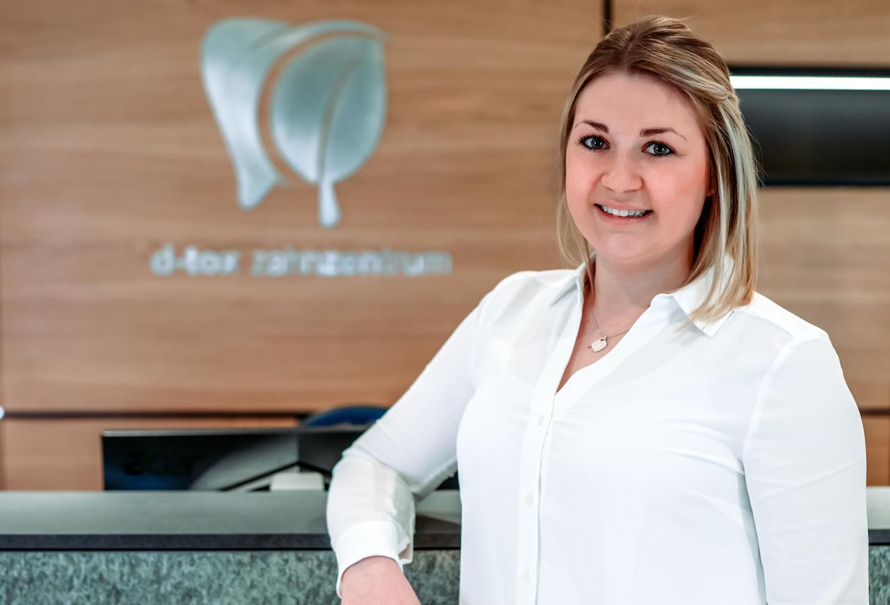 Verena Noder ZMV im D-TOX Zahnzentrum für Biologische Zahnmedizin