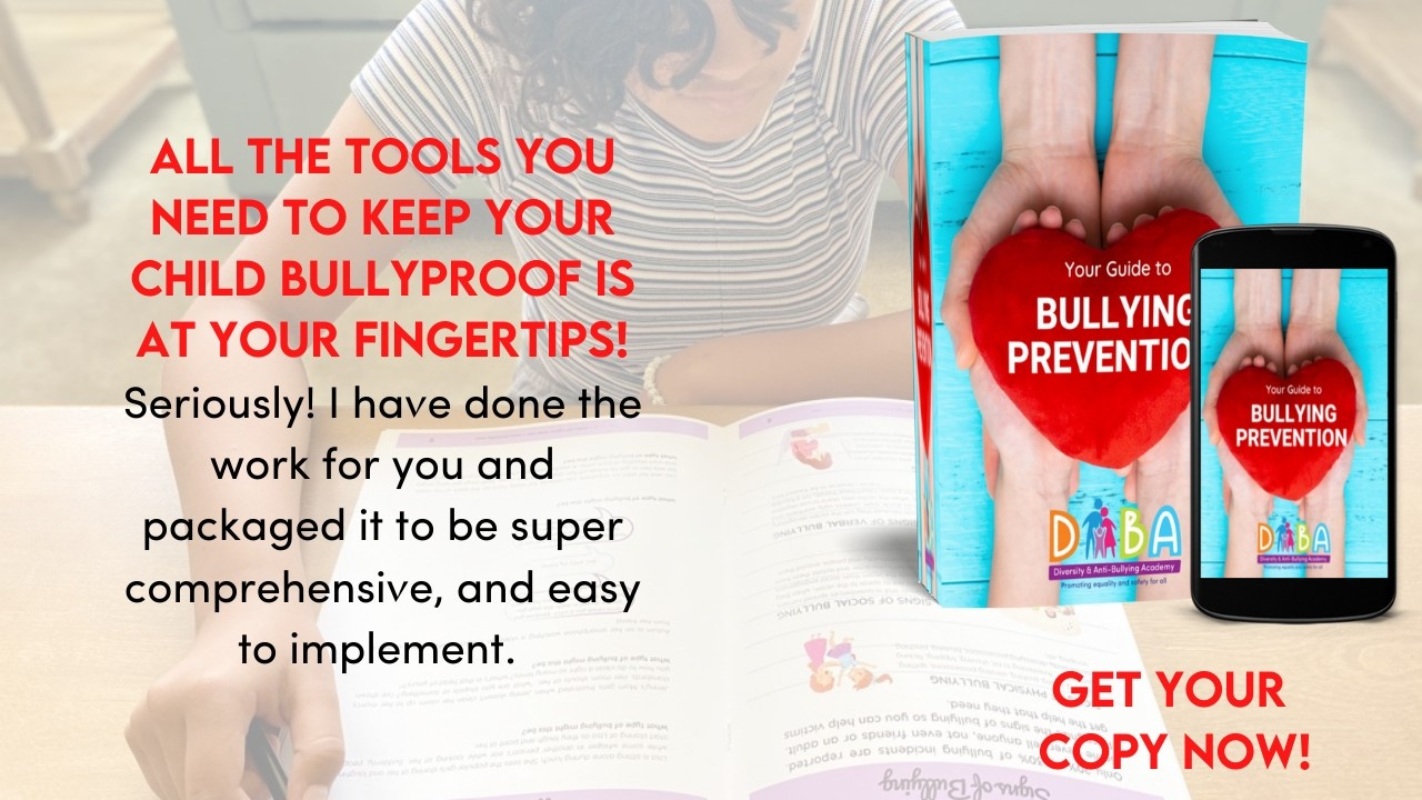 A workbook for parents and teachers to learn how and what to teach kids about bullying awareness and prevention.