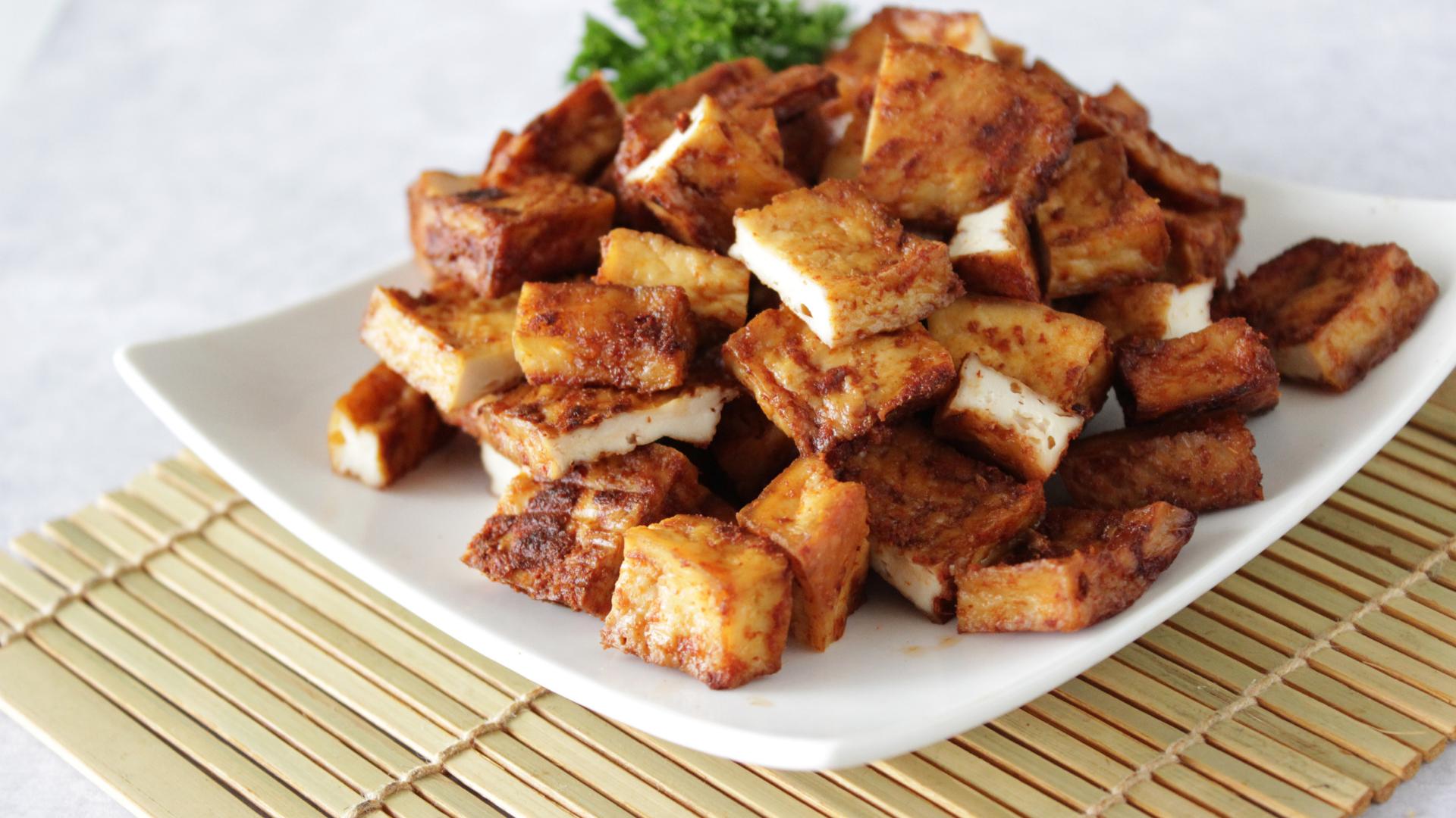 Miso Glazed Tofu