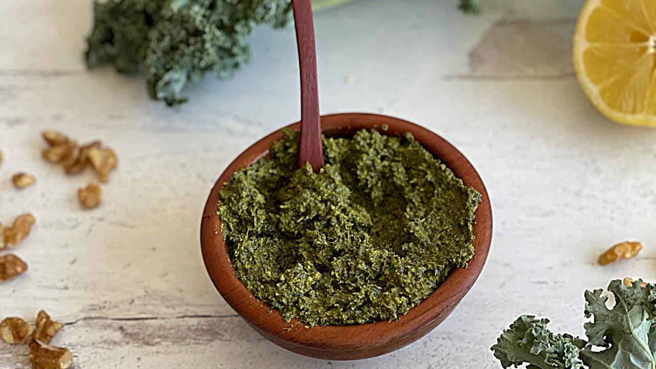 Kale Pesto Sauce