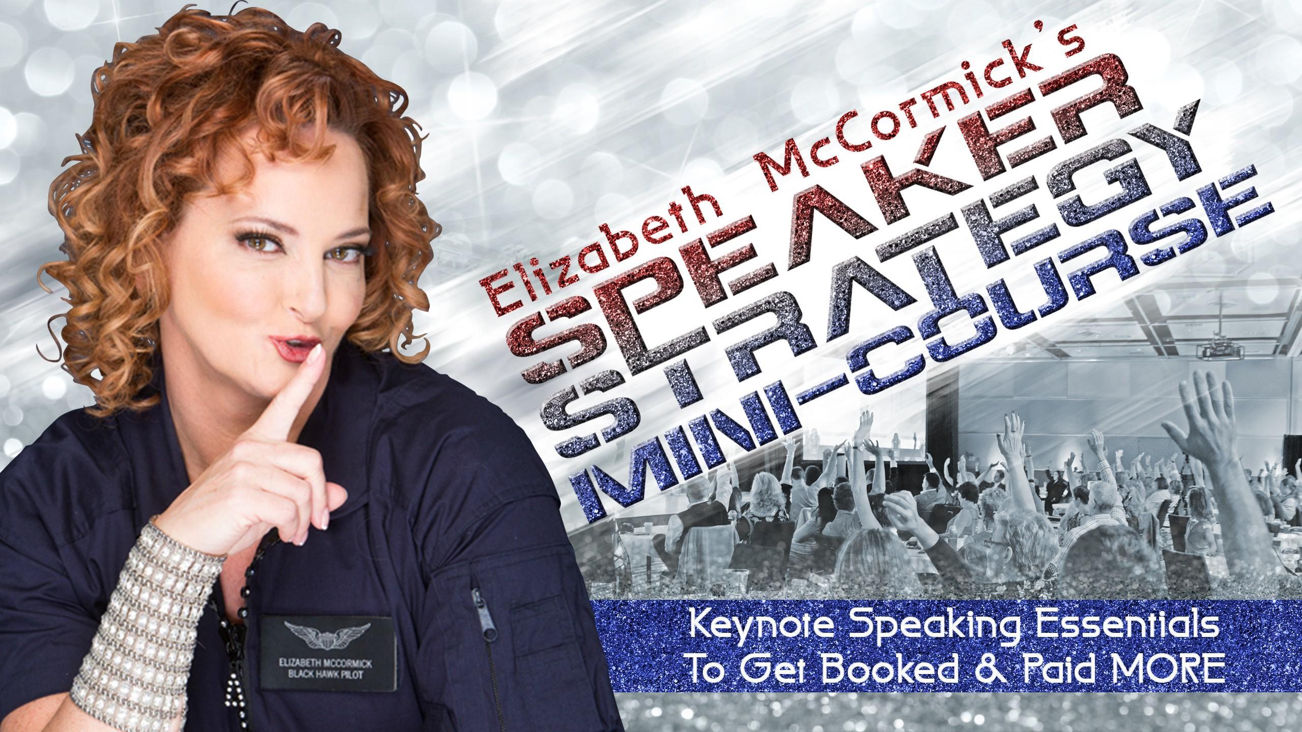 Learn to be a Keynote Speaker