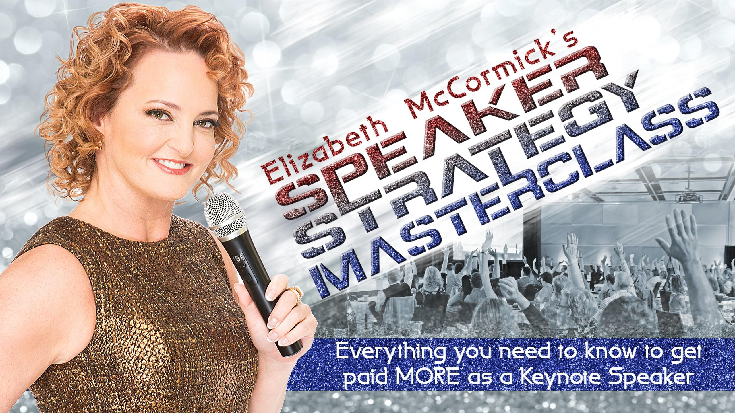 Become a Keynote Speaker with industry knowledge