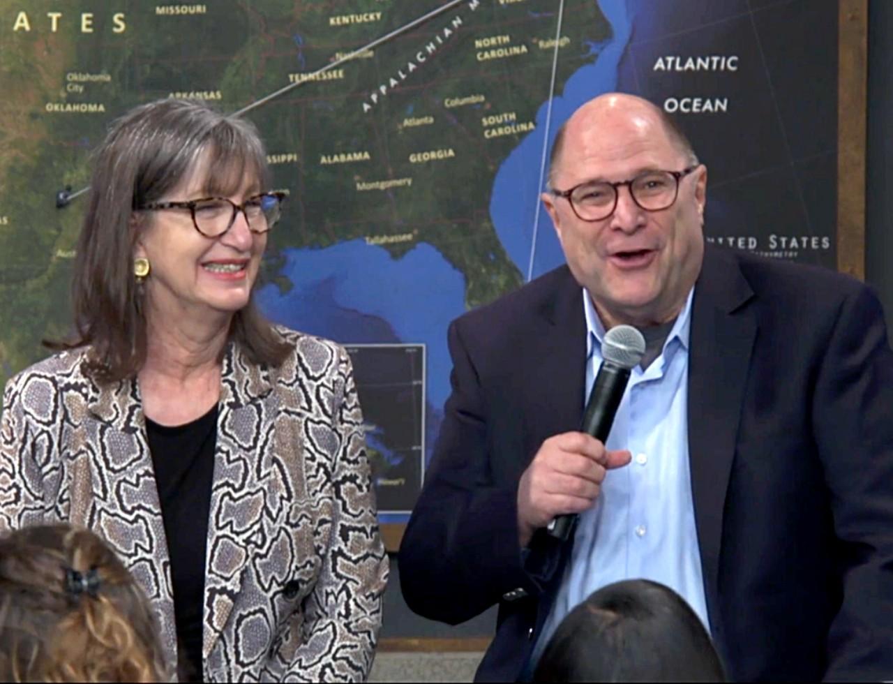 Dr. Charles and Elaine Sanger