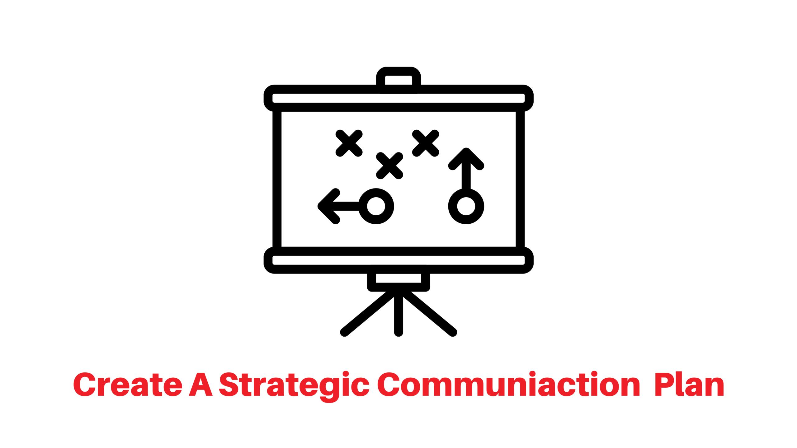 Create a strategic communication plan