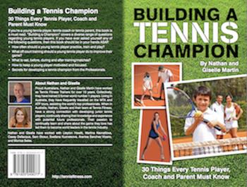 building a tennis champion book