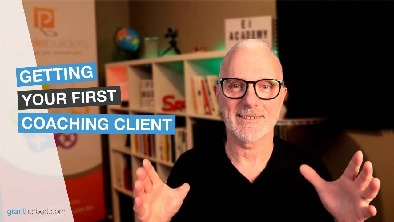 Getting your first coaching client