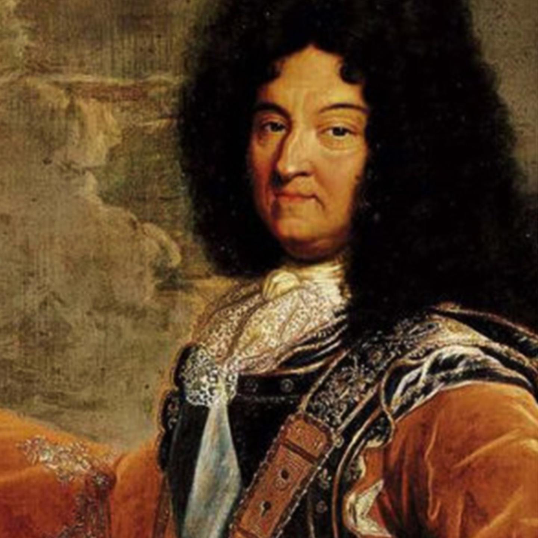 Luis XIV, imagen de pintura retrato