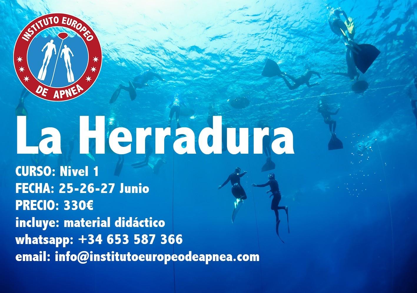 Curso de Apnea en Granada - La Herradura