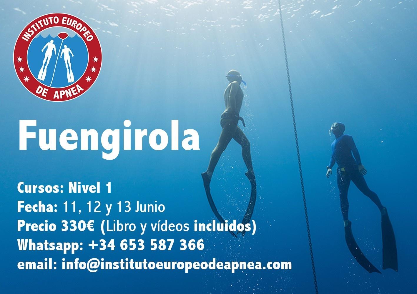 Curso de apnea en Fuengirola - Málaga