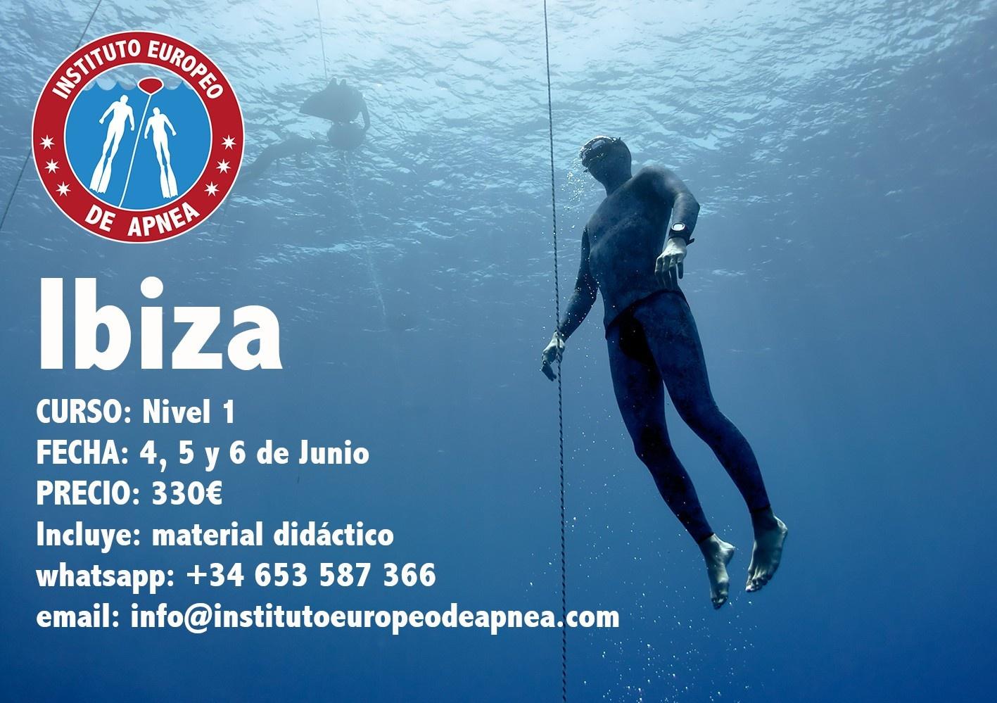 Curso Apnea en Ibiza