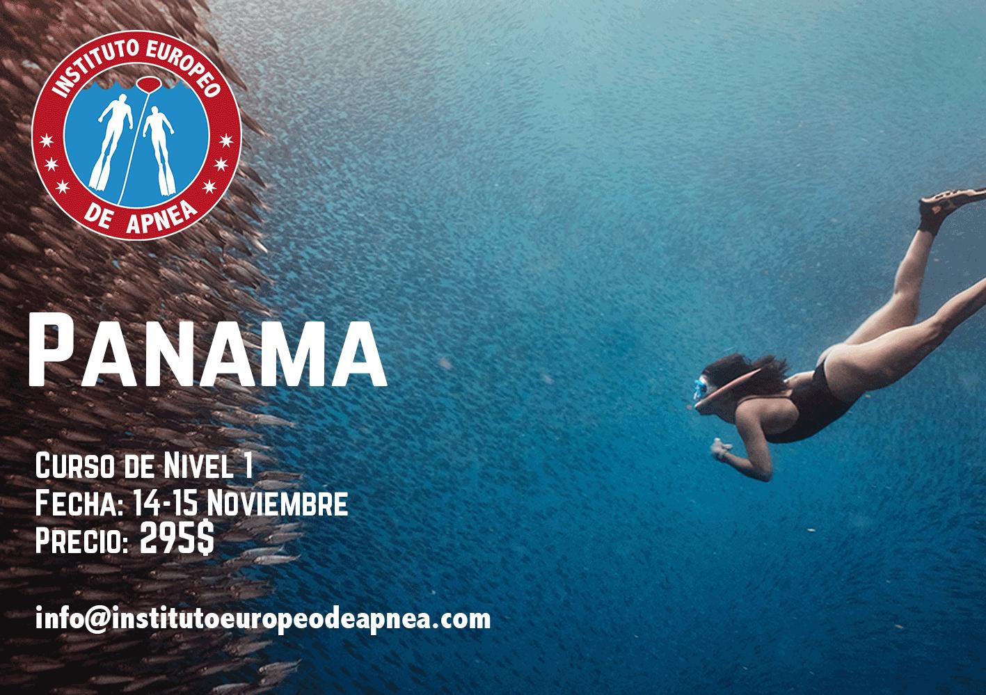 Curso de apnea en Panamá