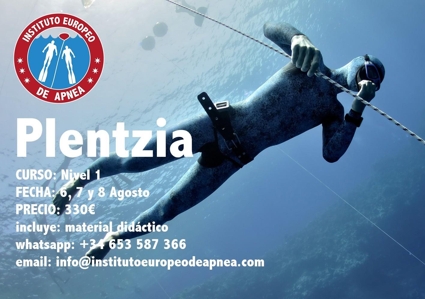 Curso de apnea en Vizcaya - Plentzia