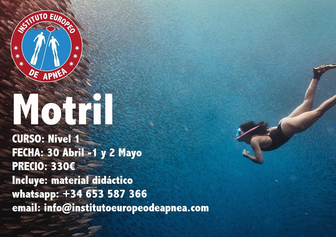 Curso de apnea en Granada - Motril